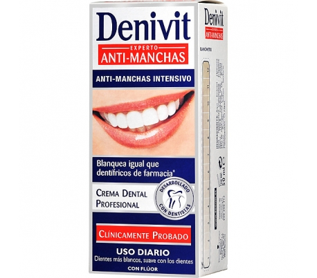 PASTA DENTAL BLANQUEADOR DENIVIT 50 ML.
