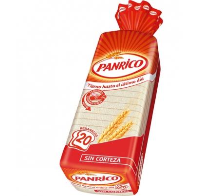 PAN DE MOLDE S/CORTEZA BLANCO PANRICO 450 GR.