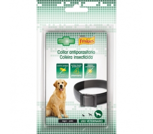 COLLAR DE PERROS GRANDE.ANTIPARASITOS FRISKIES 1 UN.