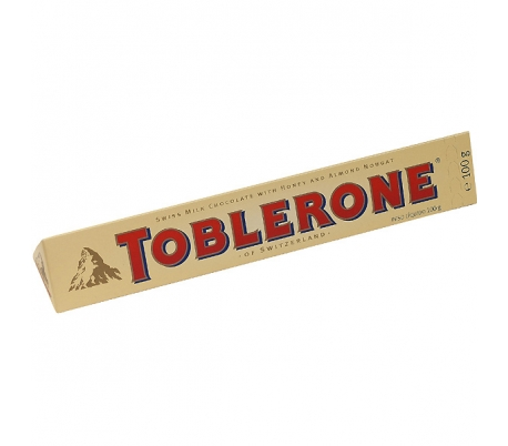 CHOCOLATE LECHE TOBLERONE 100 GR.