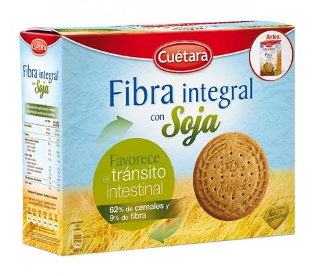 GALLETAS FIBRA INT.SOJA CUETARA 550 GR.