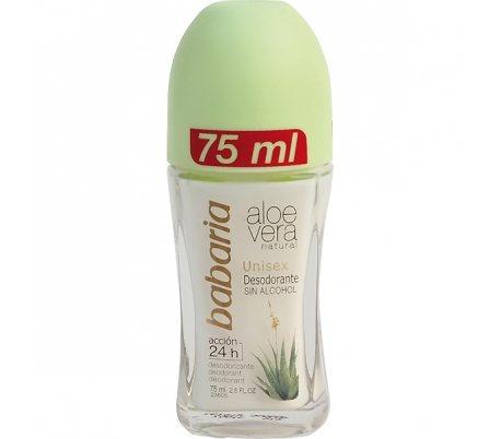 DESODORANTE ROLL-ON ALOE VERA BABARIA 75 ML.