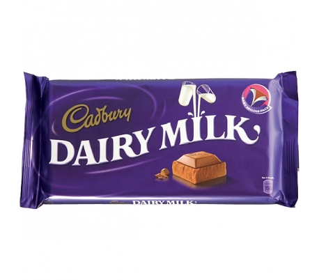 CHOCOLATE DAIRY CADBURY 110 GR.