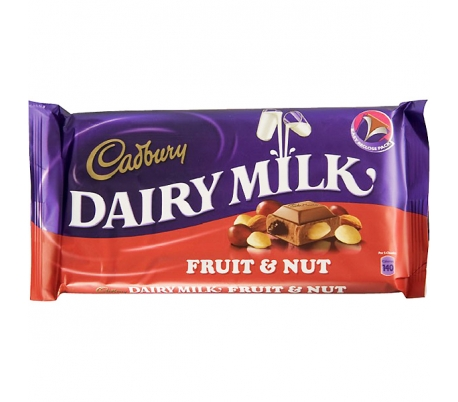 CHOCOLATE FRUIT CADBURY 110 GR.