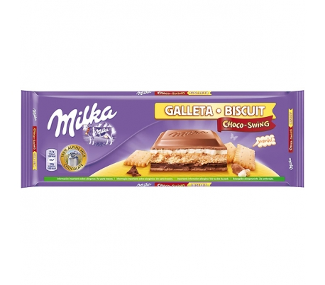 CHOCOLATE SWING GALLETA MILKA 300 GR.