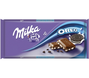 CHOCOLATE OREO MILKA 100 GR.
