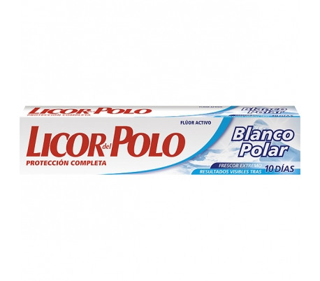 PASTA DENTAL BLANCO POLAR LICOR POLO 75 ML.