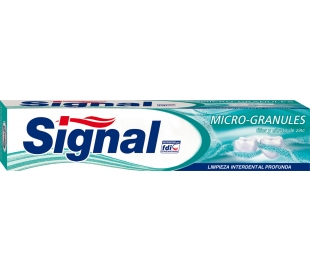 PASTA DENTAL MICROGRANULOS SIGNAL 75 ML.