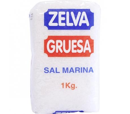 SAL GRUESA ZELVA 1 KG.