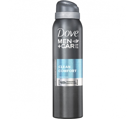 DESODORANTE SPRAY MEN CLEAM DOVE 200 ML.