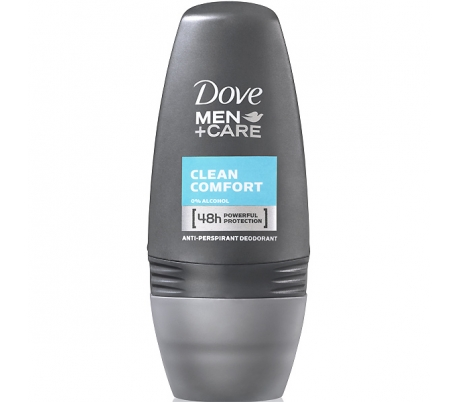 DESODORANTE ROLL-ON MEN CLEAM DOVE 50 ML.