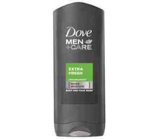 GEL DE BAÑO MEN EXTRA FRESH DOVE 400 ML.