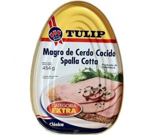 JAMON COCIDO TULIP 454GR.
