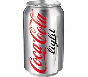 REFRESCO LIGHT COCA COLA LATA 330 CC.