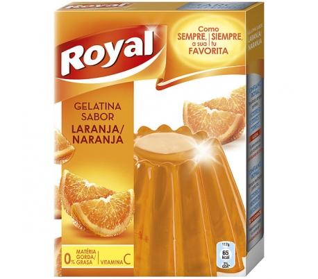 GELATINA NARANJA ROYAL 170 GR.