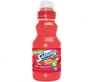 REFRESCO FRESA SUNNY DELIGH 310 ML.