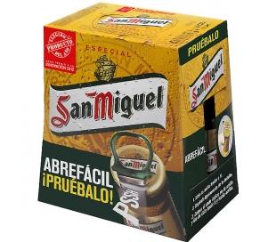 CERVEZA ESPECIAL SAN MIGUEL BOT. 6X250 ML.