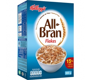 CEREALES BRAN FLAKES KELLOGG`S 500 GR.
