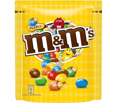 CHOCOLATE CACAHUETE M&M 250 GR.