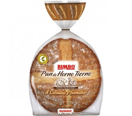 PAN DE HORNO 8 CEREALES SEMILLAS BIMBO 500 GR.