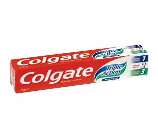 PASTA DENTAL TRIPLE ACCION COLGATE 75 ML.