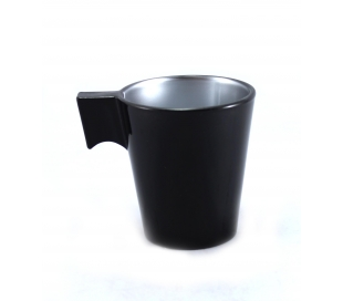 TAZA 8CL.NEGRO FLASHY EXP