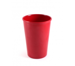 VASO MELAMINA ROJO PARTY 326 CC.