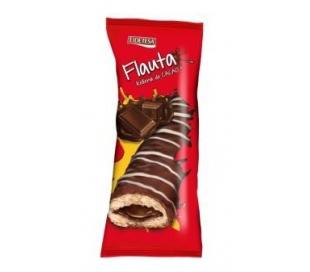 FLAUTA RELLENA CHOCOLATE EIDETESA 130 GRS.