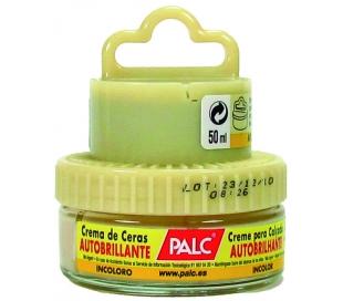 CREMA DE CALZADO INCOLORA C/APLICADOR PALC 50 ML.