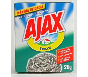 ESTROPAJO ACERO INOX AJAX 20 GR.
