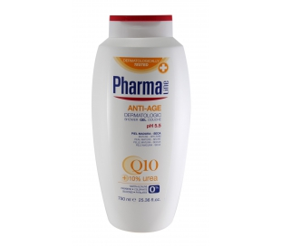 GEL BAÑO ANTI-AGE PIEL SECA-M PHARMALINE 750 ML.