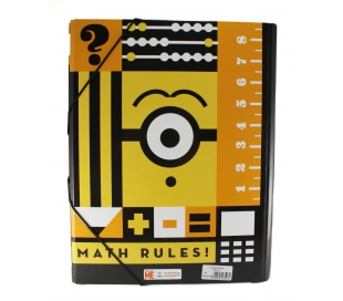 CARPETA MINIONS CS-02-MN