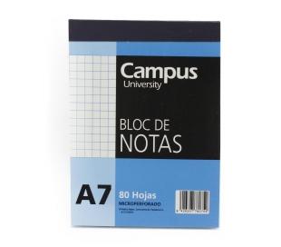 BLOC NOT.A7 80H.CUAD.1118 CAMPUS 1 UD.