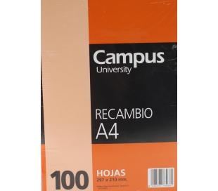 RECAMBIO A4 100H.CUA.1124