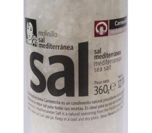 SAL GRUESA MEDITERRANEA CARMENCITA 360 GRS.