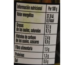 ESPARRAGOS EXTRA BLANCO 8/12 FERBA FRASCO 205 GRS.