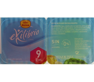 GELATINA LIGHT REINA PACK 4X100 GRS.