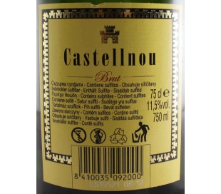 CAVA BRUT CASTELLNOU 75 CL.