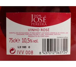 VINO ROSADO PORTUGAL J.PEREIRA 75 CL.