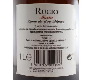 MOSTO BLANCO RUCIO BOTELLA 1L.