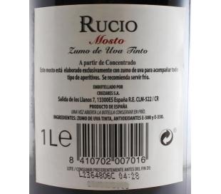 MOSTO TINTO RUCIO 1 L.