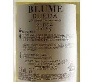 VINO BLANCO JOVEN RUEDA BLUME 75 CL.