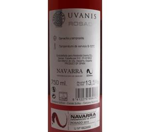 VINO ROSADO NAVARRA UVANIS 75 CL.