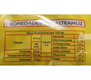 ALTRAMUCES BOLSA CASA RICARDO 400 GR.