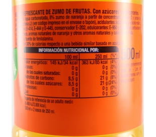 REFRESCO NARANJA FANTA 500 ML.