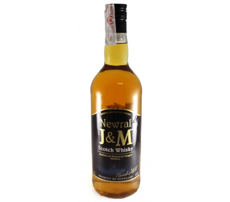 WHISKY SCOTCH 3 AÑOS J&M 1 L.