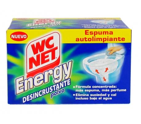 DESINCRUSTANTE POLVO WC NET PACK 4X63 GR.