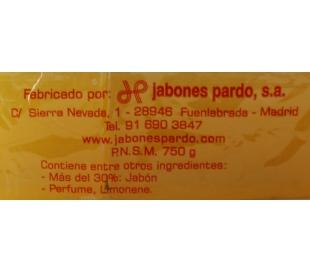 JABON PASTILLA PARDO PACK 3X250 GR.