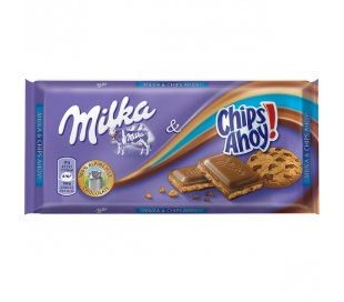 CHOCOLATE CHIPS AHOY MILKA 100 GR.