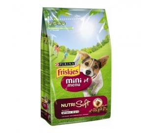COMIDA PERROS MINI MENU NUTRI SOFT FRISKIES 1.5 KGS.